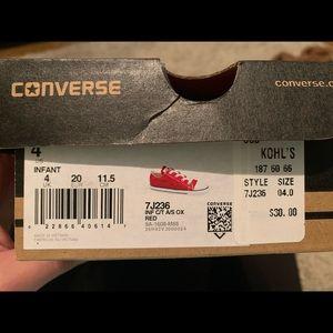 Baby Converse ❤️